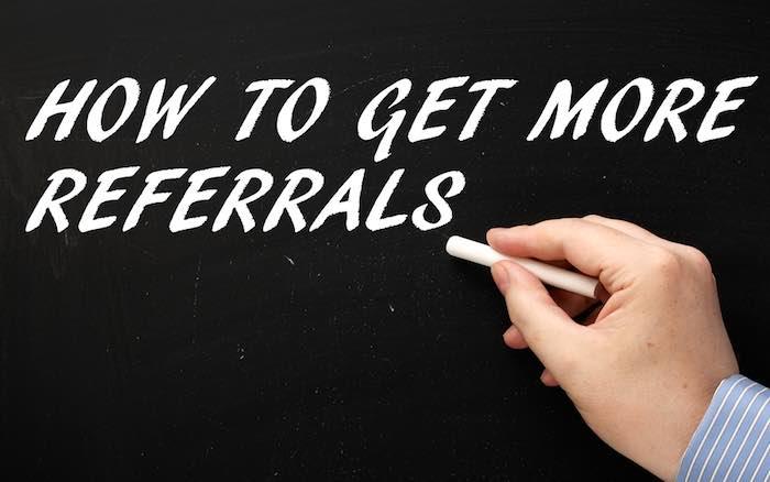 Feeding Your Referral Network